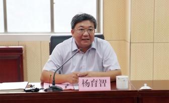 杨育智到广西桂东人民医院调研创三甲工作