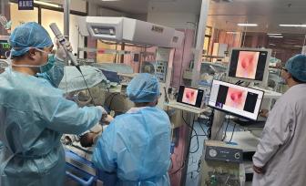 出生仅25小时,桂东地区首例最小年龄患儿支气管镜检查在6165金莎总站完成